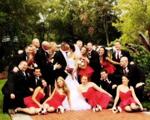 Real Wedding PIctures - Avital and Brett's Wedding Party