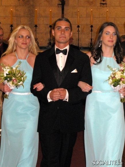 Celebrity Bridesmaid Dresses: Britney Spears
