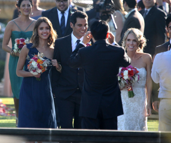 Celebrity Bridesmaid Dresses: Jessica Alba