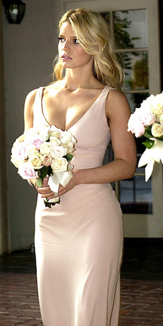Celebrity Bridesmaid Dresses: Jessica Simpson #1