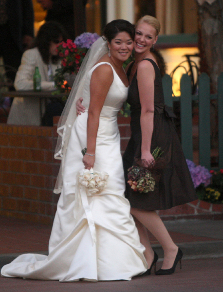 Celebrity Bridesmaid Dresses: Katherine Heigl