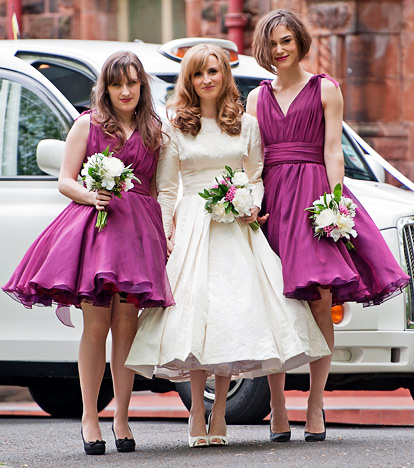 Celebrity Bridesmaid Dresses: Keira Knightley