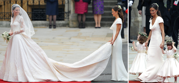 Celebrity Bridesmaid Dresses: Pippa Middleton