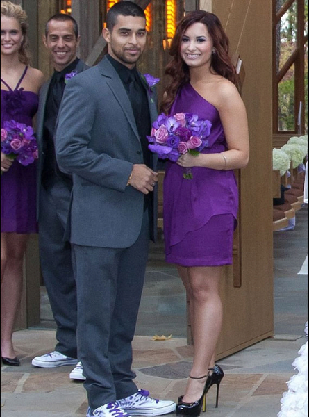 Celebrity Bridesmaids: Demi Lovato