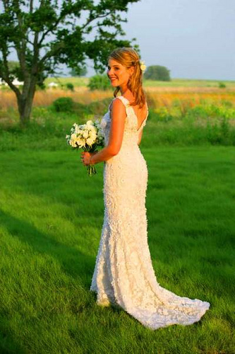 Jenna Bush's Wedding Dress