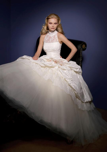 Elaborate Princess Wedding Dress