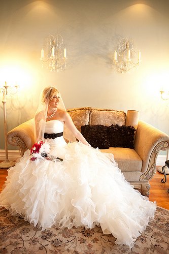 Pictures of Ball Gown Wedding Dresses - Ruffly Goodness