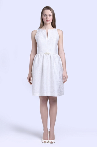 short wedding dress pictures - silk