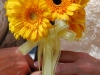 Yellow Wedding Flowers: Gerber Daisies