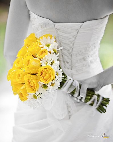 Bridal bouquet pictures yellow wedding flowers mightylinksfo