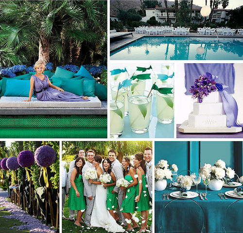 Pantone 2013 Color of the Year: Emerald Green Wedding