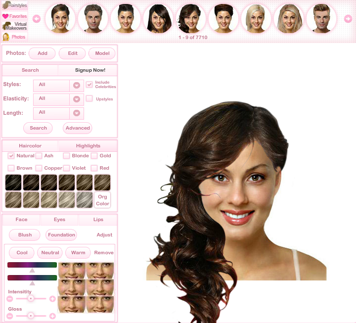 Brilliant As Virtual Tryon Technology Continues To Populate Smartphones Everywhere  Find Your VS Shade Gives Consumers The Opportunity To Determine How A Particular Hair Color Will Appear On Them Before Spending Money On A Salon Service